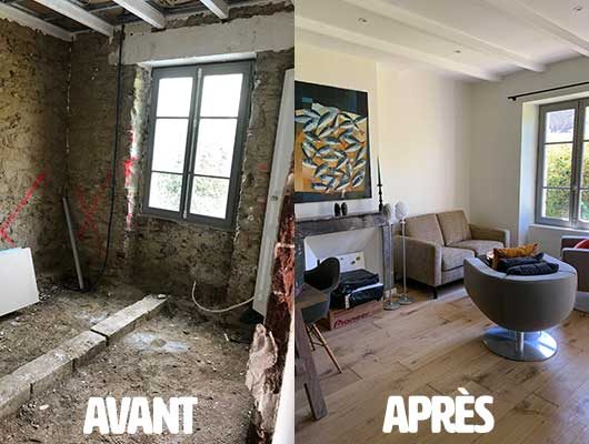 Rénovation à Saint-Briac